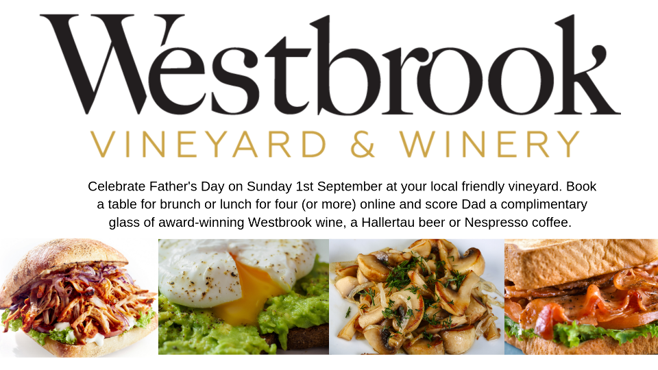 Celebrate Father's Day at Westbrook Winery